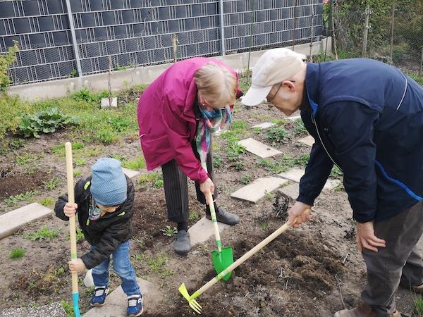 Projekt Wunschgroßeltern